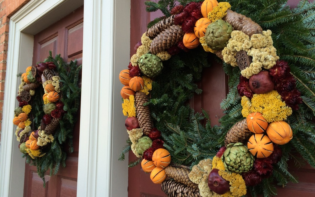 Colonial Williamsburg Wreaths
