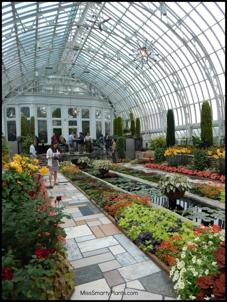 Sunken Garden at Como Park Conservatory