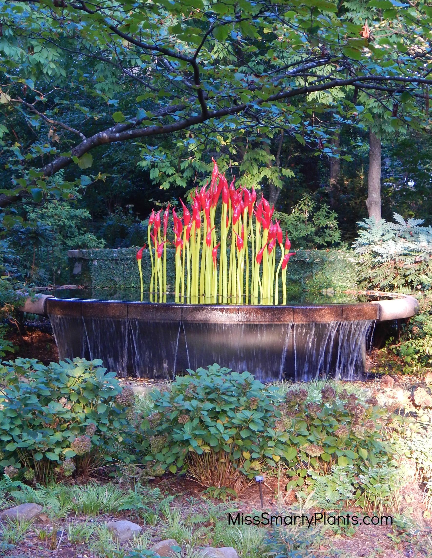 Chihuly at Atlanta Botanical Garden Miss Smarty Plants