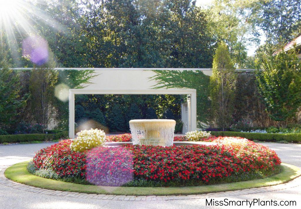 Private garden of Arthur Blank