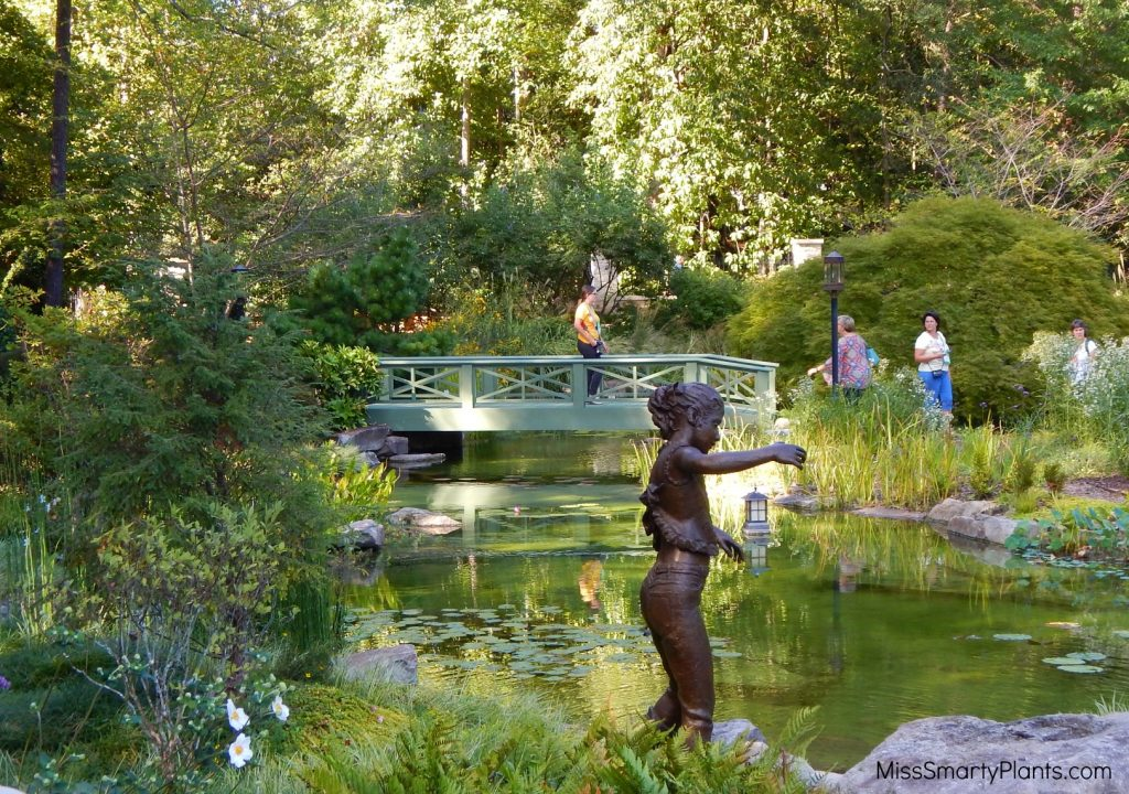 Private garden of Arthur Blank