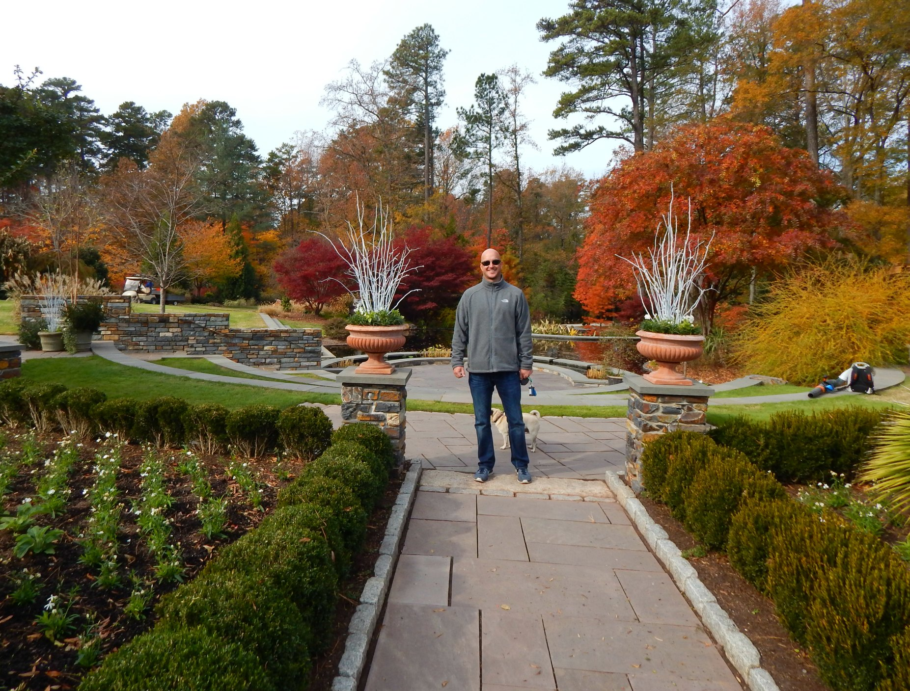 Visiting Duke Gardens in Fall - Miss Smarty Plants