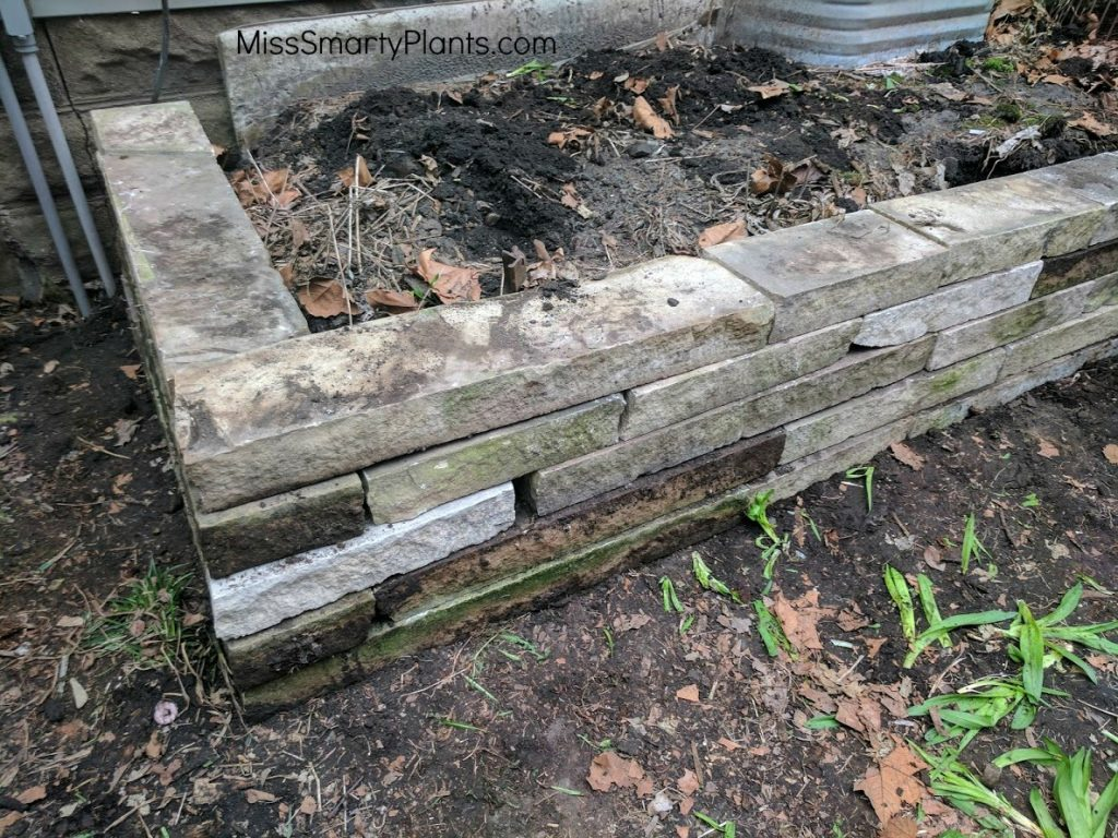 DIY Retention wall- limestone wall