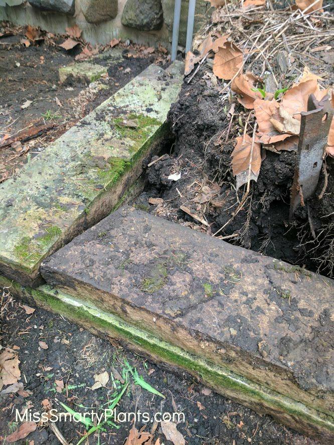 DIY Retaining wall- limestone wall