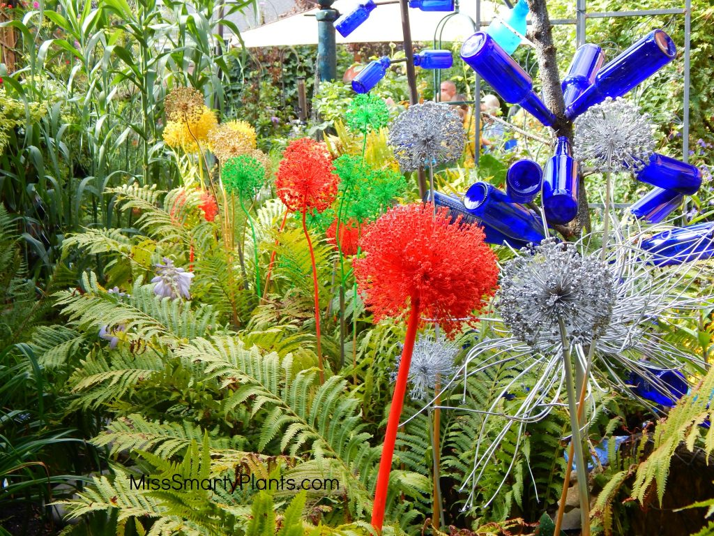 Patriotic garden design