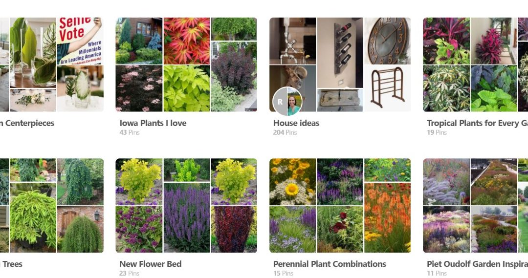 Using Pinterest for easy garden design