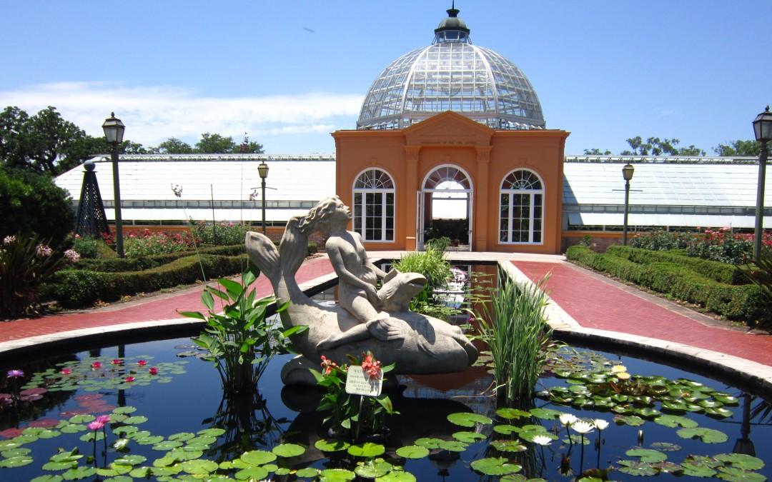 Visiting New Orleans Botanical Garden