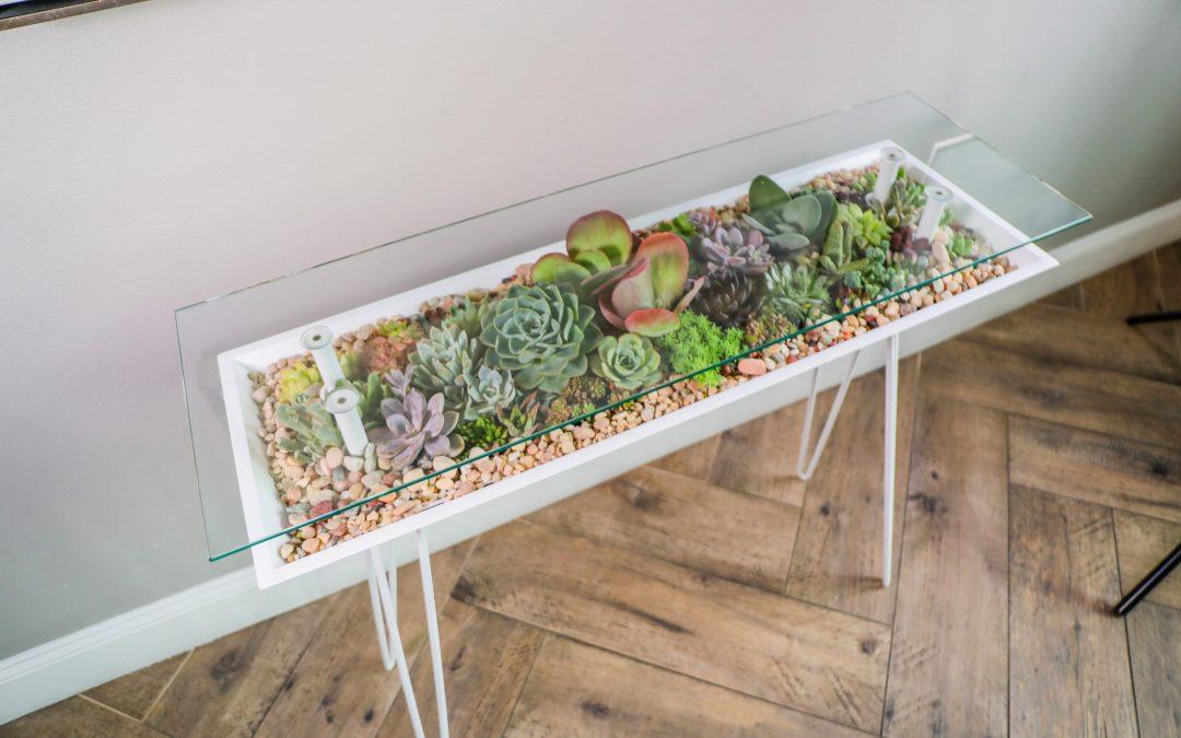 Succulent tables & Bloomingtables
